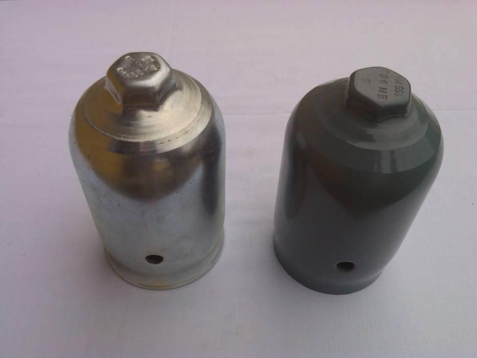 Gas cylinder DIN cap