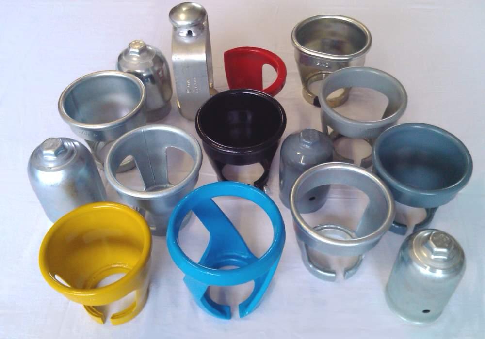 Gas cylinder caps & necks
